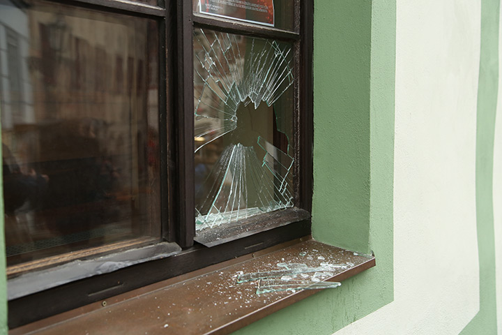 A2B Glass are able to board up broken windows while they are being repaired in Daventry.